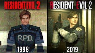 Resident Evil 2 Remake vs Original   Direct Comparison