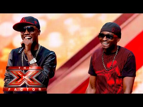 Menn On Poinnt Turn It Up For Our Judges | The X Factor UK 2015