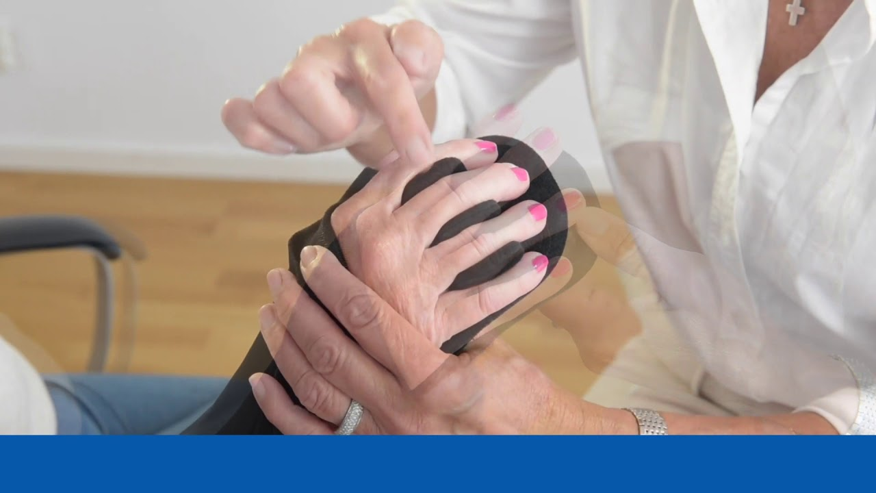 SOT Resting Splint – Fitting Finger Divider