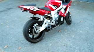 9. 2002 Yamaha R6 HR1 riot exhuast w/ velocity stacks