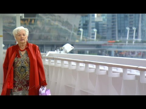 88-year-old retires and lives on cruise ship (видео)