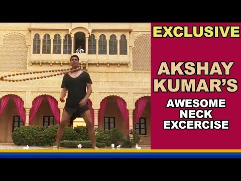 This VIRAL Video Of Akshay Kumar's Neck Exercise I