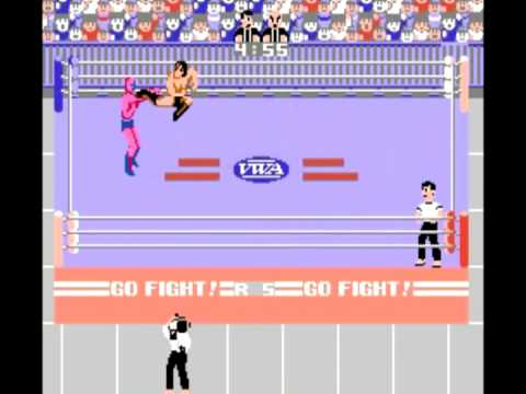 pro wrestling nes characters