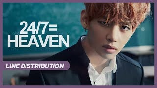 Download Lagu BTS (방탄소년단) - 24/7=HEAVEN : Line Distribution (Color Coded) **CORRECTED** Mp3