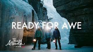 Ice Walking Adventure in Jasper | Winter Hiking | Alberta, Canada