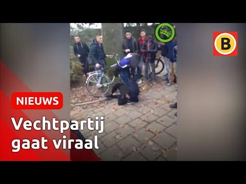 Dader geschorst vechtpartij Eckart college Eindhoven