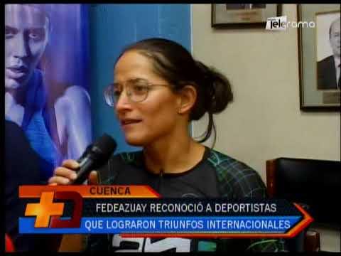 Fedeazuay reconoció a deportistas que lograron triunfos internacionales