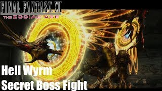 Final Fantasy XII The Zodiac Age - Hell Wyrm Secret Boss Fight (PS4 Gameplay). One of the Top 3 hardest Post Game Bosses Ingame. If you see your copyright infringed by this Video, tell me and I will take down the video immediately. No need to strike my channelSupport: https://youtube.streamlabs.com/meloo#/or https://www.patreon.com/Meloo