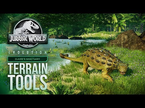 ALL The New Terrain Tools Shown! | Jurassic World: Evolution Summer Update