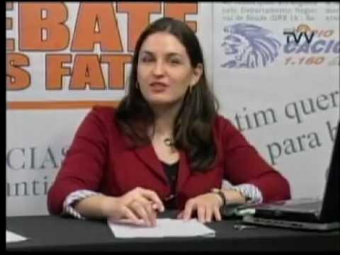 Debate dos Fatos 27/04/2012 parte 01 - Fabíola Alves