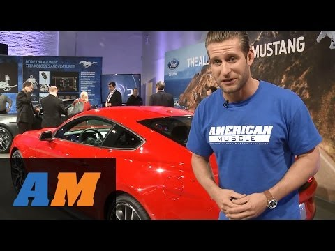 Ford - Go Behind the Scenes with the crew from AmericanMuscle.com to the big 2015 Ford Mustang Reveal in New York City! http://www.americanmuscle.com/2015-mustang-n...