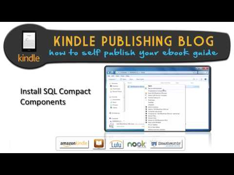 19.Ultimate Ebook Creator Install SQL Compact Components – Kindle Publishing Blog