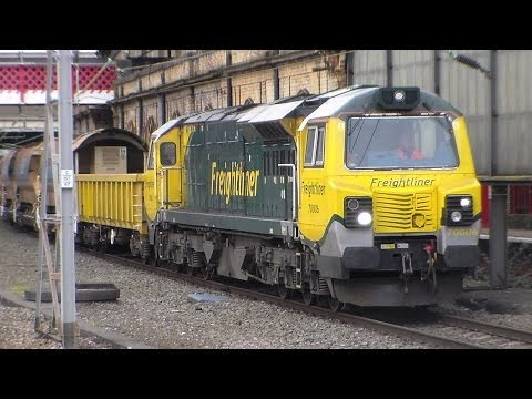 A busy day at Crewe Station 19th February 2014. Part 2 of 2