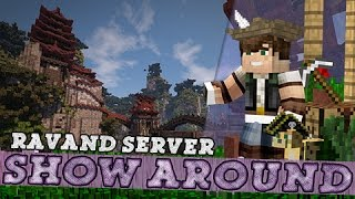 Minecraft Show-around: Amazing Plots at Ravand Server!