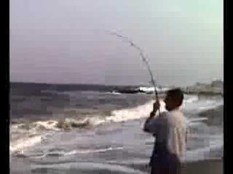 Nice Striper off the beach – NJ 2006