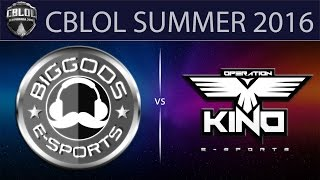BG vs Kino, game 1