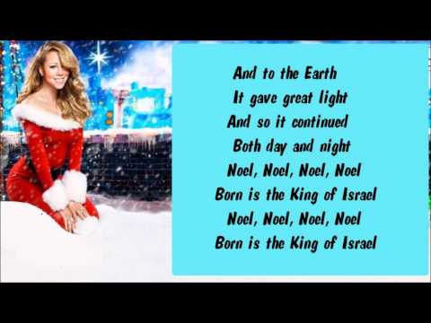 Mariah Carey - The First Noel / Born Is The King (Interlude) + Lyrics