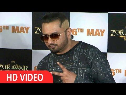 Yo Yo Honey Singh At Trailer Launch Of Film Zorawar