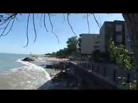 Rogers Park, at the lakefront