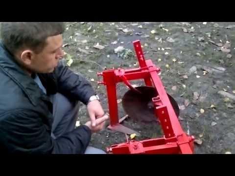 Дисковый окучник для мотоблока своими руками размеры