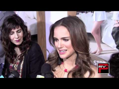 Natalie Portman Red Carpet Interview for No Strings Attached