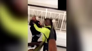 """A Saudi prince has been arrested after a video emerge that appears to show him abusing people. CBSN anchor Reena Ninan has the story.Subscribe to the """"CBSN"""" Channel HERE: http://bit.ly/1Re2MgSWatch """"CBSN"""" live HERE: http://cbsn.ws/1PlLpZ7Follow """"CBSN"""" on Instagram HERE: http://bit.ly/1PO0dkxLike """"CBSN"""" on Facebook HERE: http://on.fb.me/1o3Deb4Follow """"CBSN"""" on Twitter HERE: http://bit.ly/1V4qhIuGet the latest news and best in original reporting from CBS News delivered to your inbox. Subscribe to newsletters HERE: http://cbsn.ws/1RqHw7TGet your news on the go! Download CBS News mobile apps HERE: http://cbsn.ws/1Xb1WC8Get new episodes of shows you love across devices the next day, stream local news live, and watch full seasons of CBS fan favorites anytime, anywhere with CBS All Access. Try it free! http://bit.ly/1OQA29B---CBSN is the first digital streaming news network that will allow Internet-connected consumers to watch live, anchored news coverage on their connected TV and other devices. At launch, the network is available 24/7 and makes all of the resources of CBS News available directly on digital platforms with live, anchored coverage 15 hours each weekday. CBSN. Always On."""