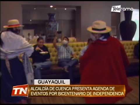 Alcaldía de Cuenca presenta agenda de eventos por bicentenario de independencia