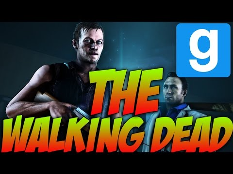 Gmod Zombie Survival Mod! THE WALKING DEAD!