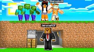 Minecraft Speedrunners VS 4 Hunters (Infection Mode)