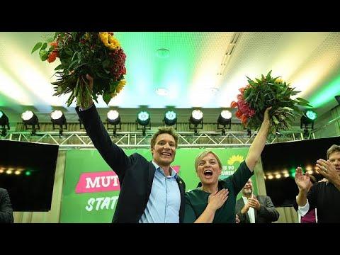 Ενισχυμένοι οι Πράσινοι από τις εκλογές στη Βαυαρία