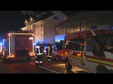Γερμανία-Πυρκαγιά σε κέντρο υποδοχής μεταναστών-πέντε τραυματίες