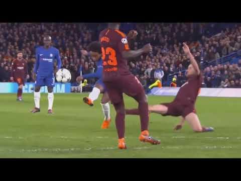 Barcelona vs Chelsea  1-1 All Goals Champions League 20/02/2018 HD