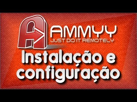 Ammyy - Instalação e configuração