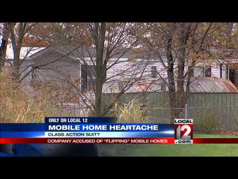 "Mobile home heartache: Company accused of ""flipping"" mobile homes"