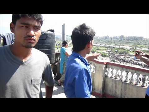 Eye witnesses plane crash Kathmandu, Nepal, 28 September 2012