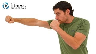 キックボクシングとコアワークアウト