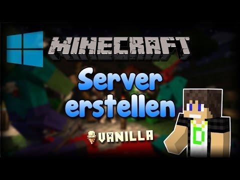Minecraft 1.8 | Kostenlosen Server erstellen [WINDOWS | FULL HD]
