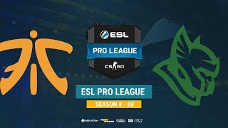 Fnatic vs Heroic - ESL Pro League EU - bo1 - de_mirage [ceh9, MintGod]