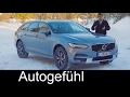 Volvo V90 Cross Country Full Review Test Driven Cc Crossover Estate New Neu  Autogef Hl