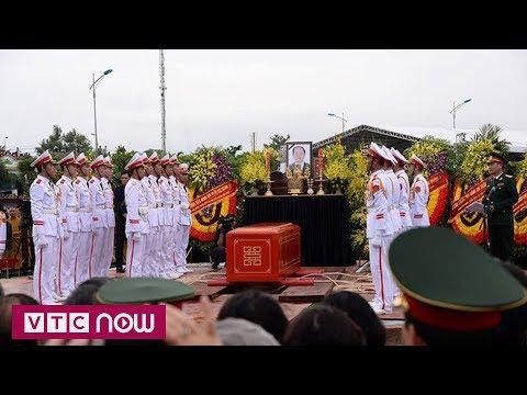 Lễ an táng Chủ tịch nước Trần Đại Quang tại quê nhà | VTC1 - Thời lượng: 109 giây.