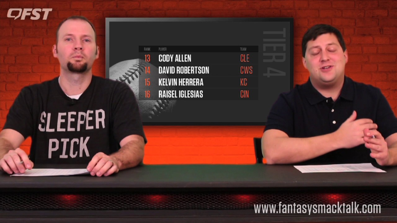 2017 Fantasy Baseball Relief Pitcher Rankings thumbnail
