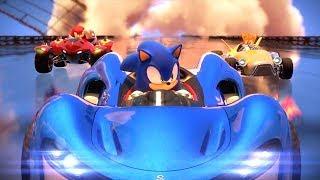 Sonic & Sega All Stars Racing - Team Sonic Racing?