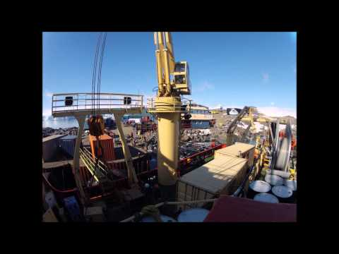 Making Science Happen: LTER Cargo Timelapse on the Laurence M. Gould