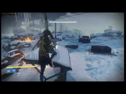 Destiny Glitch / Cosmodrome Wall