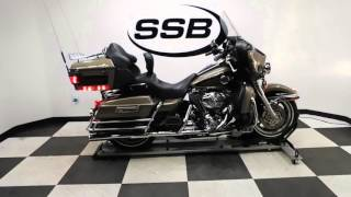 7. 2004 Harley-Davidson Ultra Classic Electra Glide Tan - used motorcycle for sale - Eden Prairie, MN