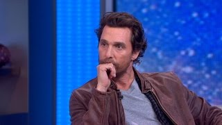 Matthew McConaughey Talks 'Interstellar'