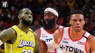 Los Angeles Lakers vs Houston Rockets - Full Game Highlights | January 18, 2020 | 2019-20 NBA Season
