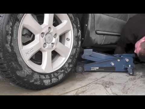 Volvo XC70 Winter to Summer tire change swap