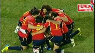 Samoa Vs España - USA Sevens 2013 - Las Vegas. Hsbc Sevens World Series
