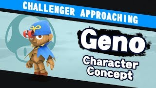 Challenger Approaching! What if Geno was in Super Smash Bros.?